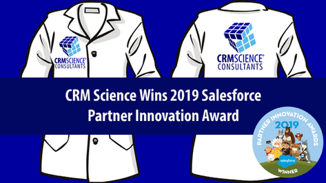 CRM Science Wins 2019 Salesforce Partner Innovation Award for Community Cloud