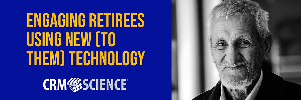 Engaging retirees using new technology