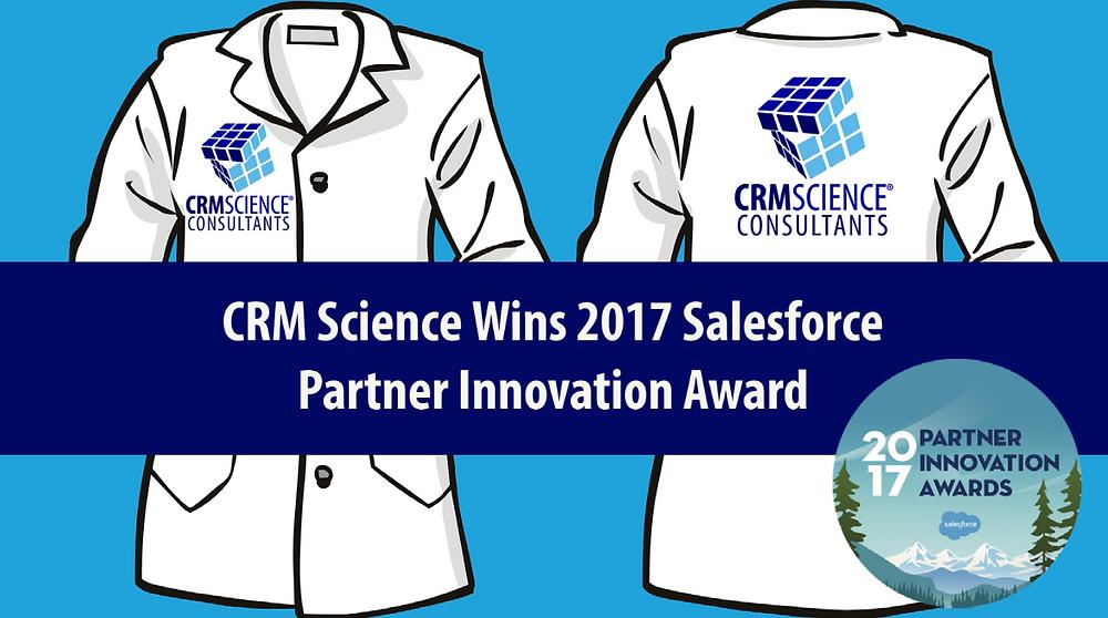 CRM Science Wins 2017 Salesforce Partner Innovation Award for Analytics Cloud