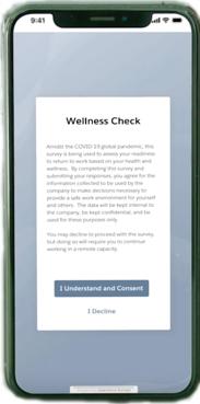 Work.com Employee Wellness Check
