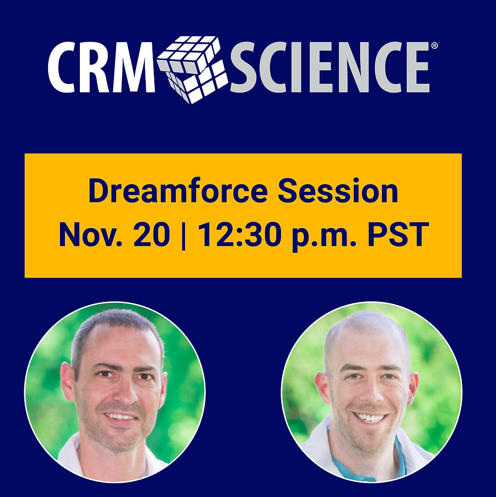 CRM Science session at Dreamforce 2019