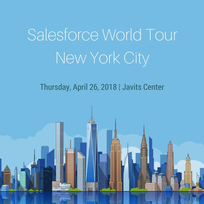 Salesforce World Tour New York City