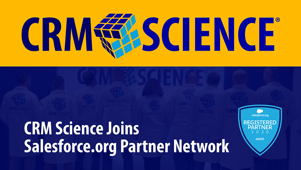 CRM Science Joins Salesforce.Org Partner Network