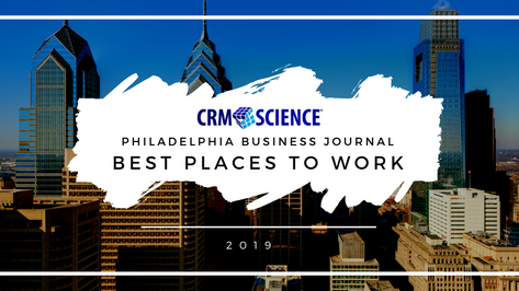 CRM Science Makes Philadelphia Business Journal Best Places to Work 2019
