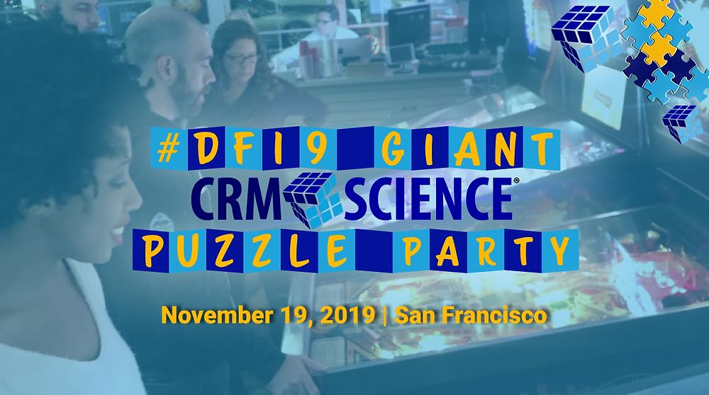 CRM Science Puzzle Party - Dreamforce 2019