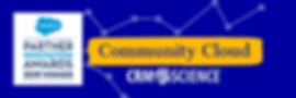 CRM Science: 2019 Salesforce Partner Innovation Award - Community Cloud