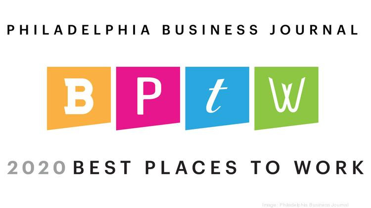 Philadelphia Business Journal 2020 Best Places to Work