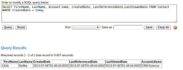 New SOQL Clauses and System Fields | CRM Science