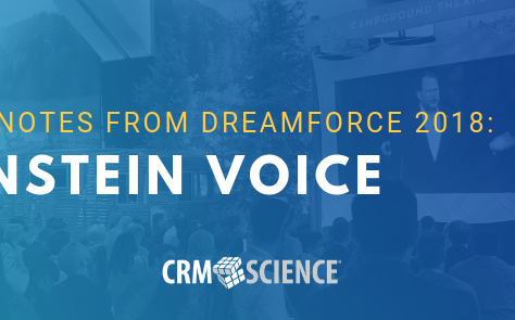 Key Notes from Dreamforce 2018: Einstein