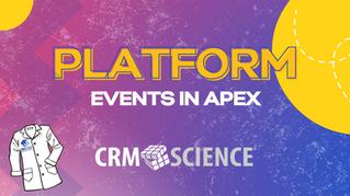 Platform Events in Apex