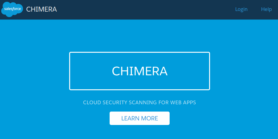 The Chimera Web Scanner
