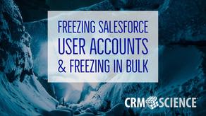 Freezing Salesforce User Accounts & Freezing in Bulk