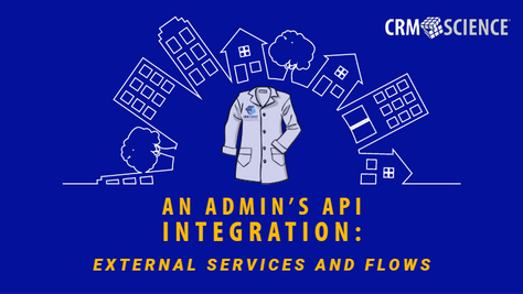 An Admin's API Integration: External Services and Flows