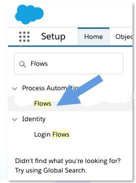 Flow Setup