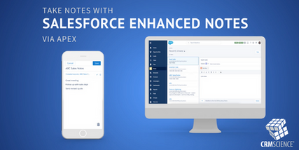 Take note, Salesforce enhanced notes via apex are here!
