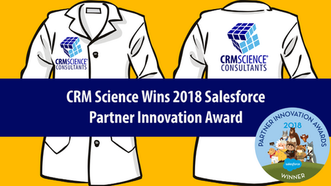 CRM Science Wins 2018 Salesforce Partner Innovation Award for Lightning Leadership