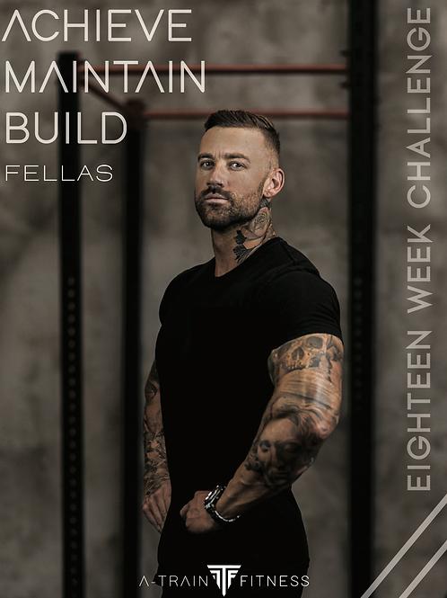 Mens 18 Week Challenge eBook