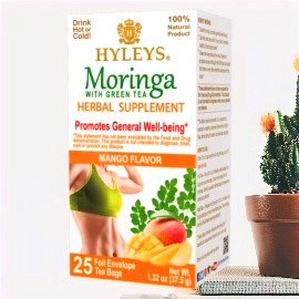HYLEYS - Moringa Oleifera +Green Tea 100% NATURAL