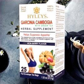 Acai Berry -HYLEYS - Suppress Appetite Garcinia Gambogia +Green Tea 100% NATURAL