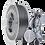 Thumbnail: Prima Select Glossy PLA 1.75 750g- Industrial Grey
