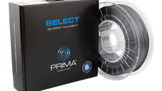Prima Select Glossy PLA 1.75 750g- Industrial Grey