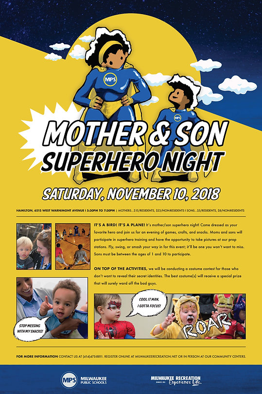 Mother & Son Superhero Night poster.jpg