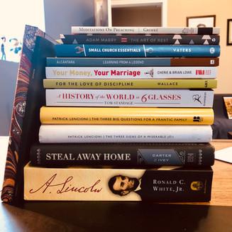 Sabbatical Reading List