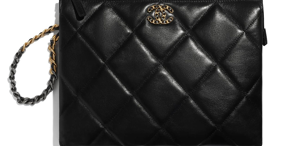 Chanel 19 Pouch with Handle