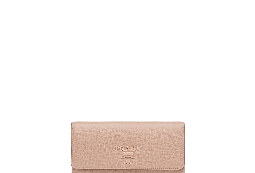 Large Saffiano Leather Wallet