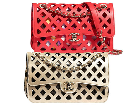 Chanel Perforated Flap Bags  Pre-Collection SS 21