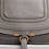 Thumbnail: Chloé Marcie leather handbag in suede calfskin & woven webbing