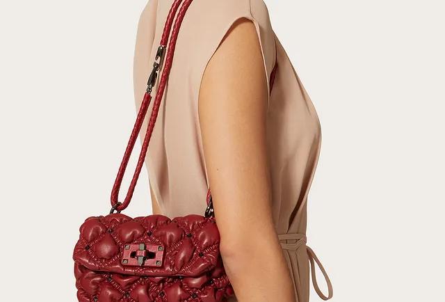 Valentino SpikeMe Small Nappa Shoulder Bag