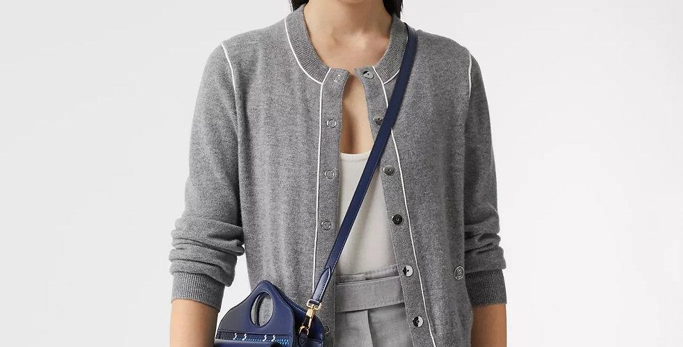 Burberry Mini Latticed Leather Pocket Bag