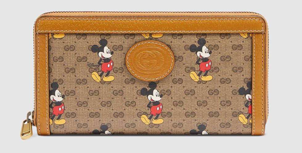Disney x Gucci zip-around wallet
