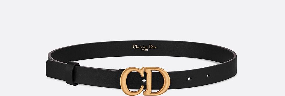 Dior Initials calfskin belt