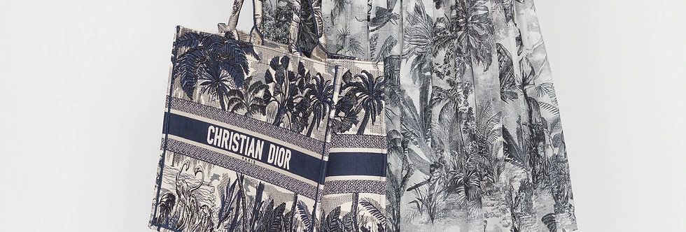 Dior Book Tote Toile de Jouy Embroidery