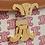 Thumbnail: Céline Teen Triomphe Bag in Textile and natural Calfskin