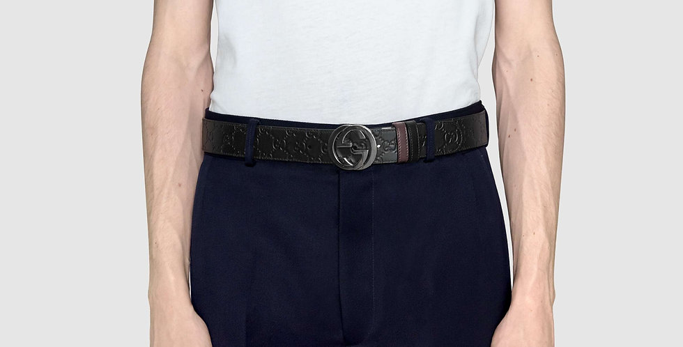 Gucci reversible Signature belt