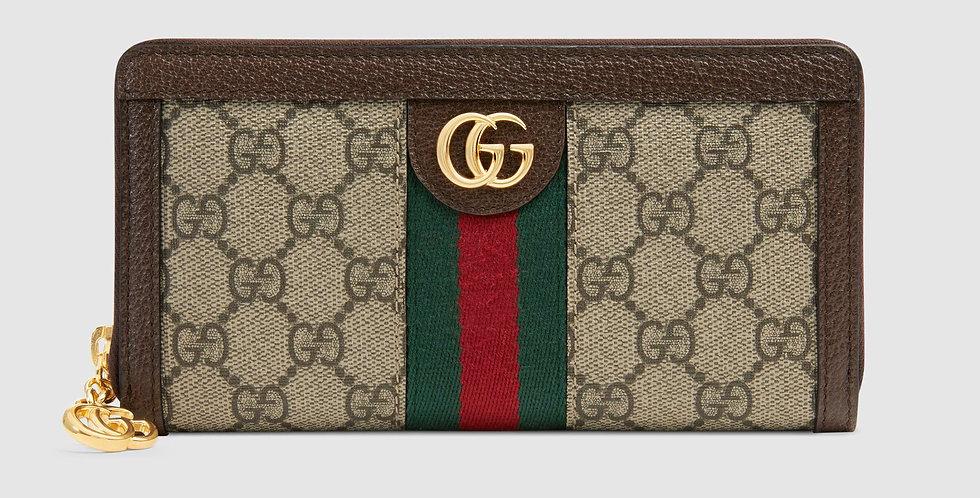 Gucci Ophidia GG zip-around wallet