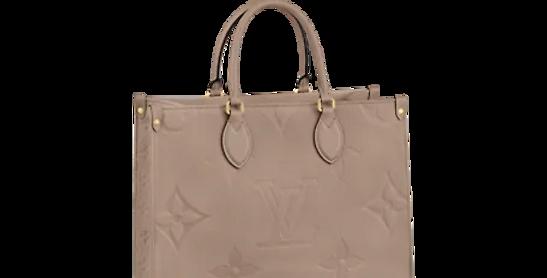 Louis Vuitton ONTHEGO MM Monogram Empreinte Leather