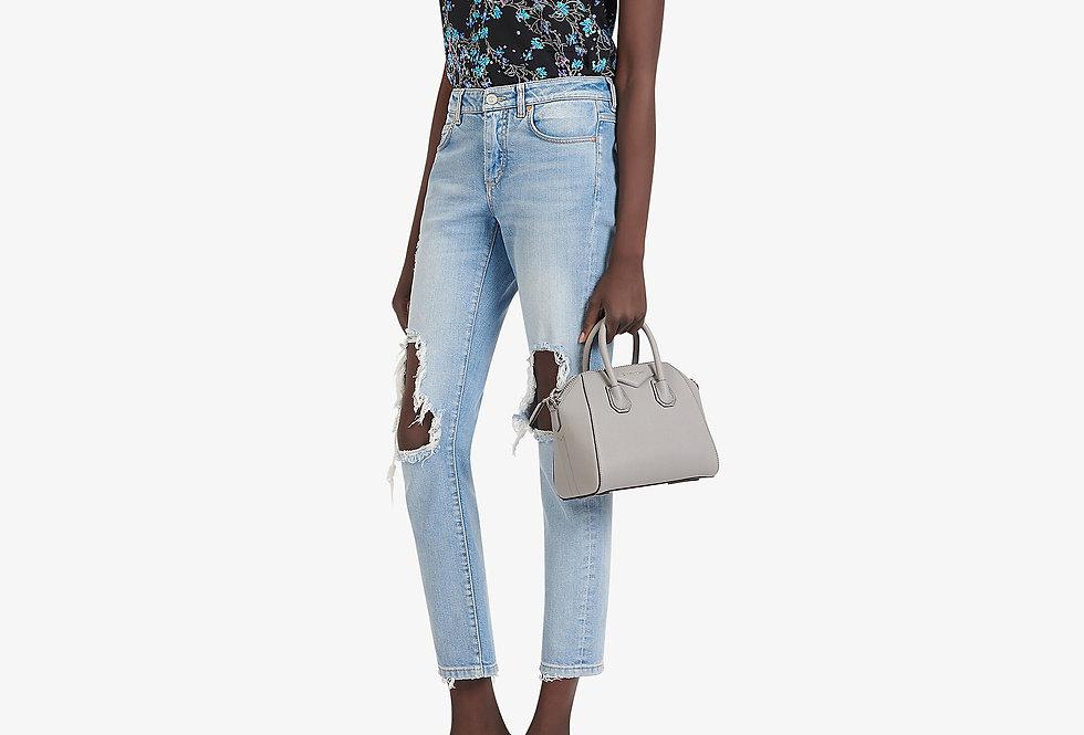 Givenchy Antigona Mini Grained Leather Tote Bag