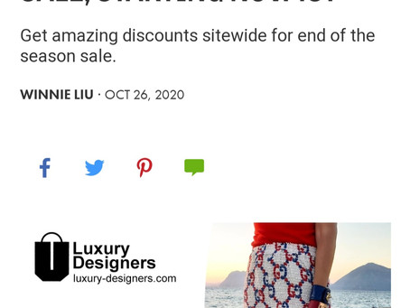 We are on Fashionista.com!!!