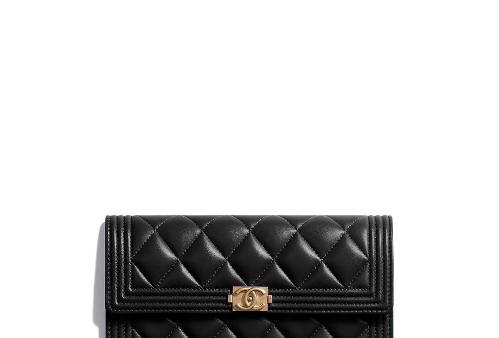 Chanel Boy Long Flap Wallet