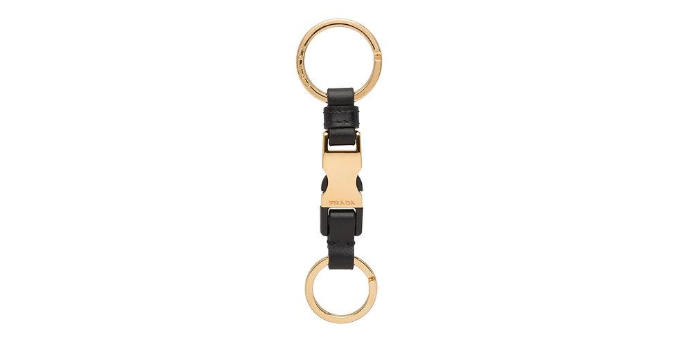 Prada Leather keychain