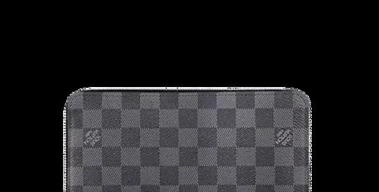 Louis Vuitton Zippy Organizer Damier Graphite Canvas