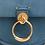 Thumbnail: Chloé Tess small bag in suede & shiny calfskin