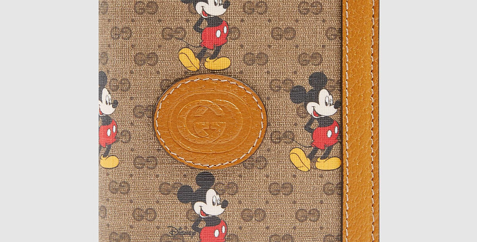 Disney x Gucci passport case
