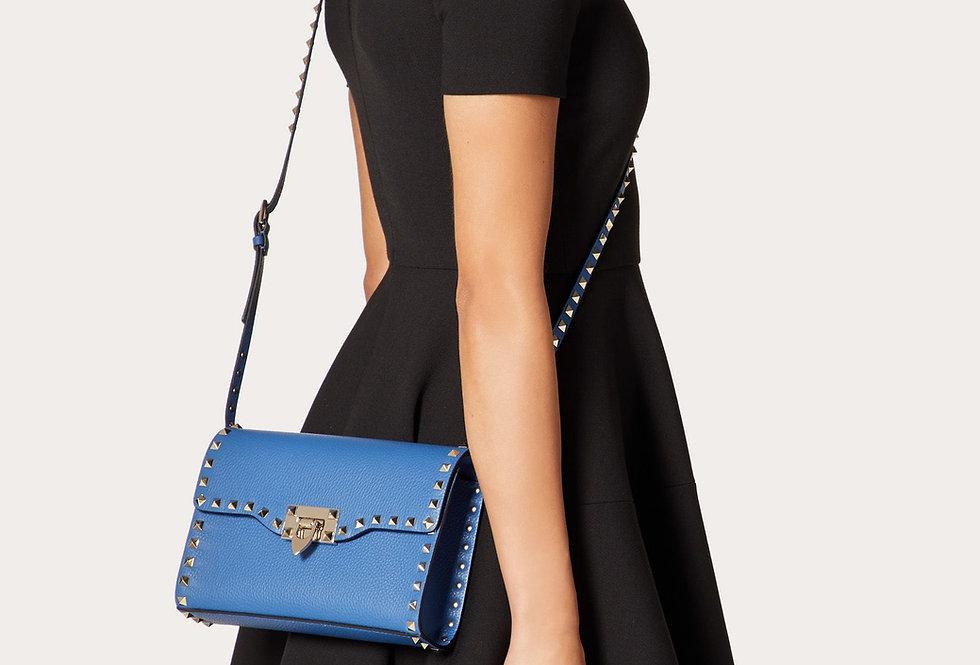 Valentino Rockstud small grainy calfskin crossbody bag