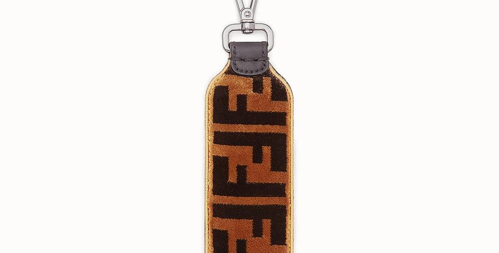 Fendi Multicolor fabric key ring