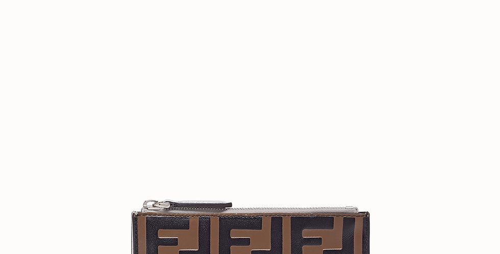 Fendi  Leather Key Pouch